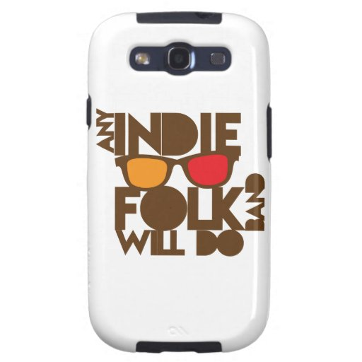 Any indie Folk band will do ND music Samsung Galaxy S3 Covers