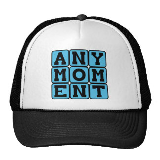 Any Moment, Pregnancy Announcement (Boy) Cap