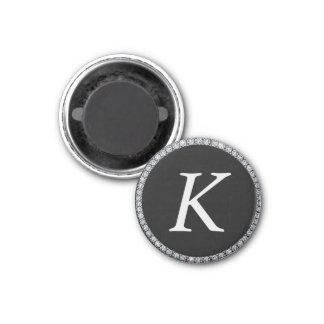Any monogram bling ring magnet