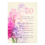 Any Number Birthday Invitation Hyacinth