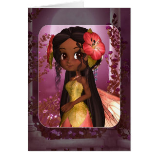 Any Occasion Card - African American Fairy