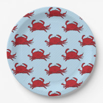 Any occasion Crab Fest change colour Paper Plate