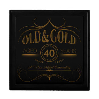 Any Old Birthday Gold OGSA Large Square Gift Box