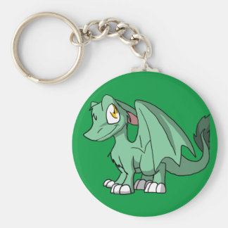 Any Pastel Color SD Furry Dragon 1 Basic Round Button Key Ring