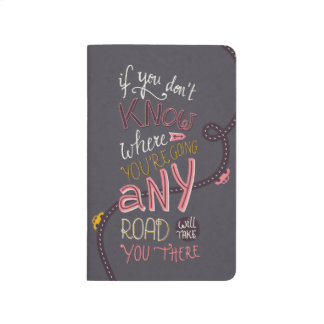 Any Road Quote Pocket Journal