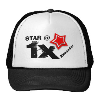 Any TEEN or TWEEN Birthday Layered RED Star T01Z Cap