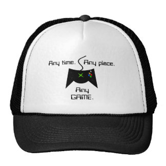 """Any Time"" Gamer Hat"