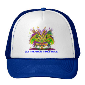 Any Time or Event Mardi Gras The Queen Style 2 Cap