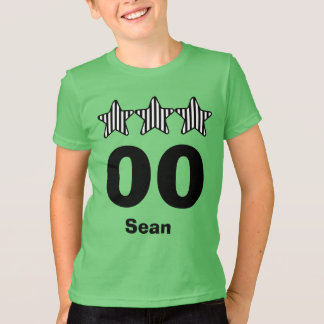 Any Year Birthday Kid Three Stars Big Numbers T-Shirt