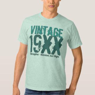 Any Year Custom Birthday Gift Best Vintage V02 T Shirt