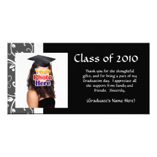 Any Year~ Vines Graduation Thank You/Announcement Card