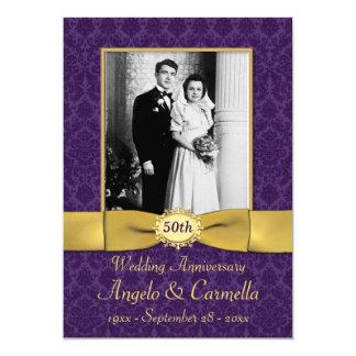 Any Year Wedding Anniversary Invite