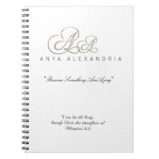 Anya Alexandria Promo Simple Notebook