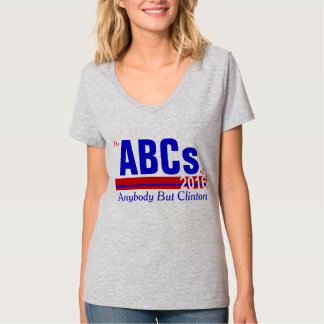 Anybody But Clinton Tee Shirt