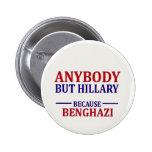 Anybody But Hillary 6 Cm Round Badge