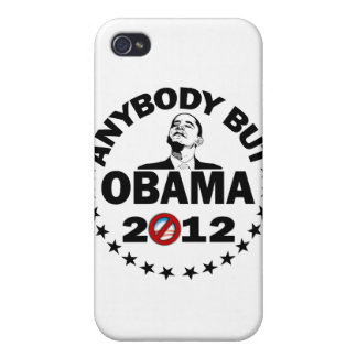 Anybody But Obama - 2012 Case For iPhone 4