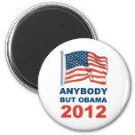 Anybody but Obama 2012 Refrigerator Magnet