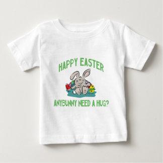 Anybunny Need A Hug Happy Easter Baby Baby T-Shirt