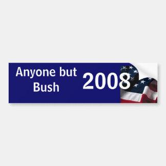 Anyone but Bush 2008 Bumper Sticker