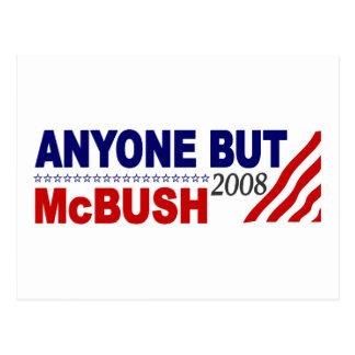 Anyone But Mcbush Post Cards