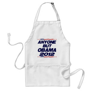 Anyone But Obama 2012 Aprons