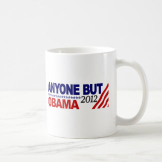Anyone But Obama 2012 Coffee Mug