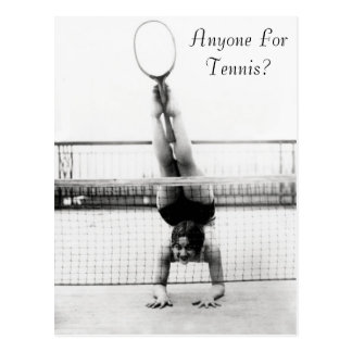 Anyone For Tennis? - Postcard