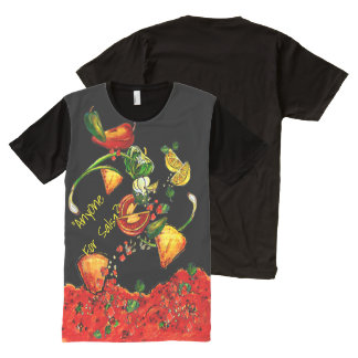 """Anyone Want Salsa?"" All-Over Print Shirt All-Over Print T-Shirt"