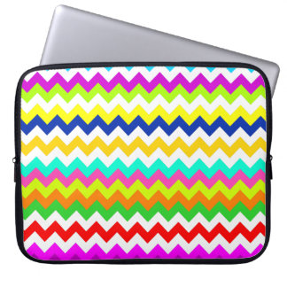 Anything But Gray Chevron Laptop Sleeve