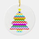 Anything But Grey Chevron Christmas Tree Christmas Tree Ornaments