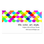 Anything But Grey Fish Scales Pack Of Standard Business Cards