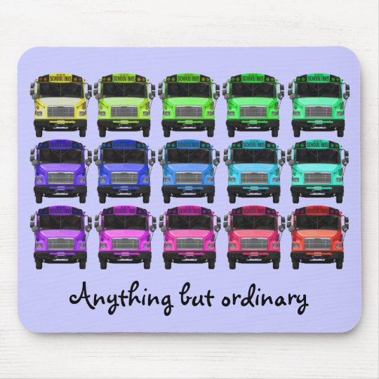 Anything but ordinary (Purple) Mouse Mat