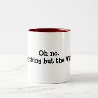 Anything but the Widor organist's mug