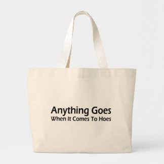 Anything Goes Canvas Bag