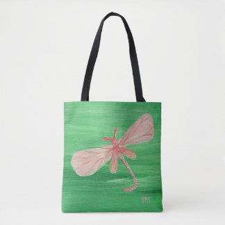 Anything is Possible Dragonfly Tote Bag