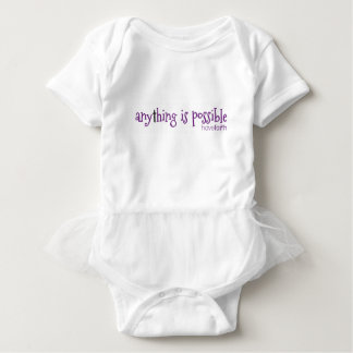 Anything is Possible ~ Have Faith Baby Bodysuit