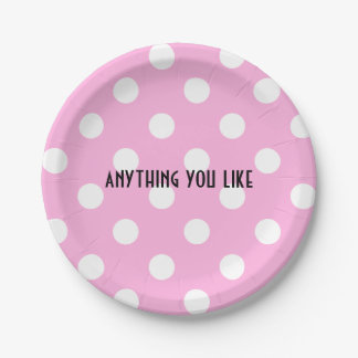 anything you like paper plate
