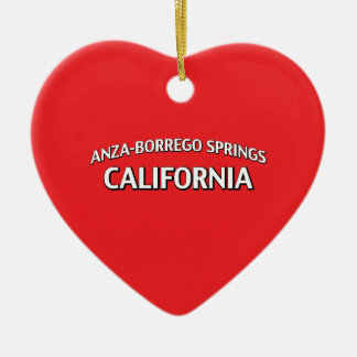 Anza-Borrego Springs California Christmas Ornament