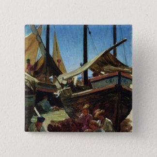 Anzio, The Port 15 Cm Square Badge