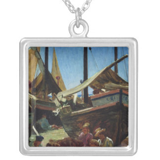 Anzio, The Port Silver Plated Necklace