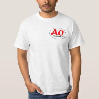 AO generation T-shirt logo