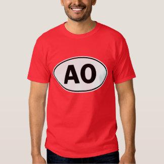 AO Oval ID T Shirts
