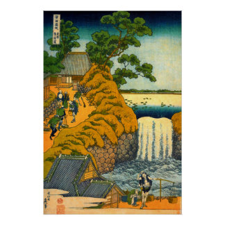 Aoigaoka Waterfall in the Eastern Capital Poster