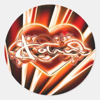 'Aolani Round Sticker