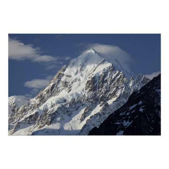 Aoraki Mount Cook, Mackenzie Country, South 2 Poster