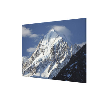 Aoraki Mount Cook, Mackenzie Country, South Canvas Print
