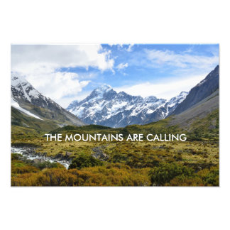 Aoraki/Mount Cook New-Zealand Photographic Print
