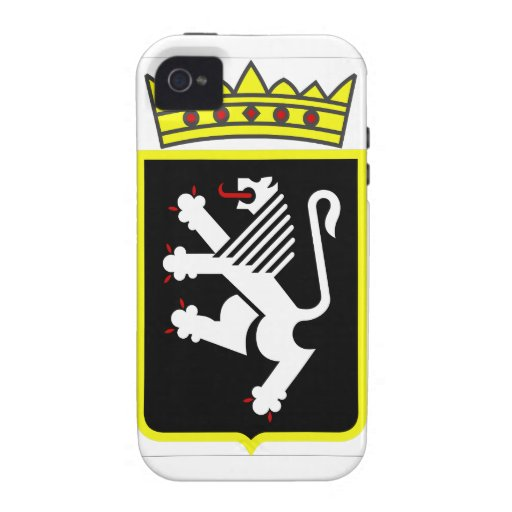 Aosta Valley Coat of Arms Case For The iPhone 4