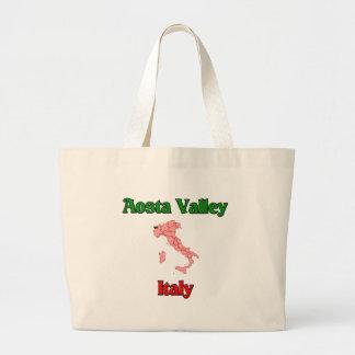 Aosta Valley Italy Jumbo Tote Bag