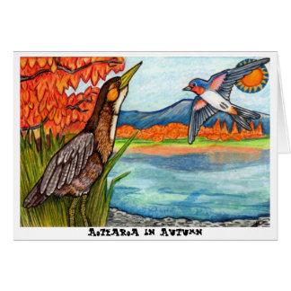 Aotearoa in Autumn Card